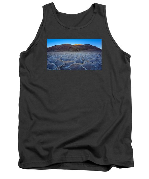 Shadows Fall Over Badwater Tank Top