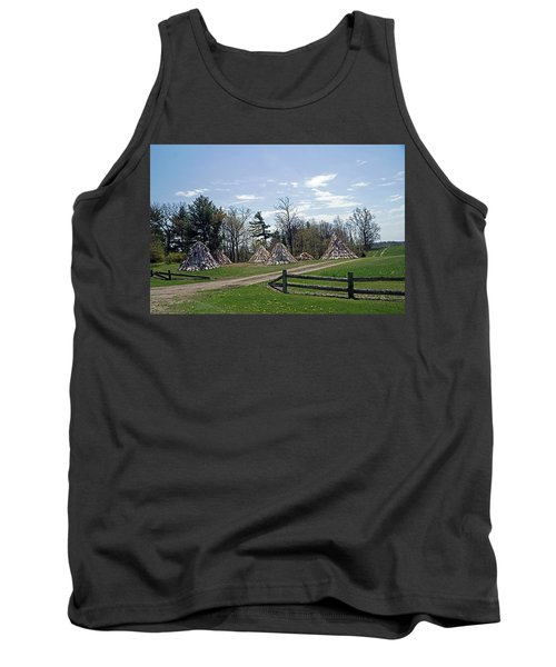 Shaker Teepees? Tank Top by Judy Johnson
