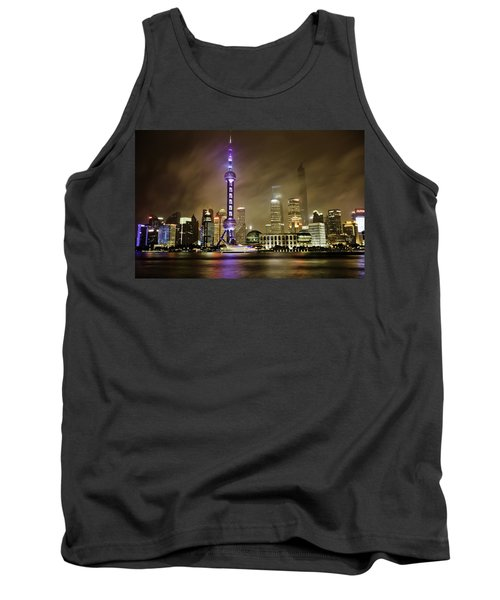 Shanghai Skyline Tank Top