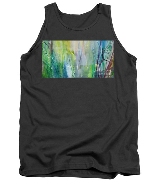 Shapes And Colors Tank Top by Dan Whittemore