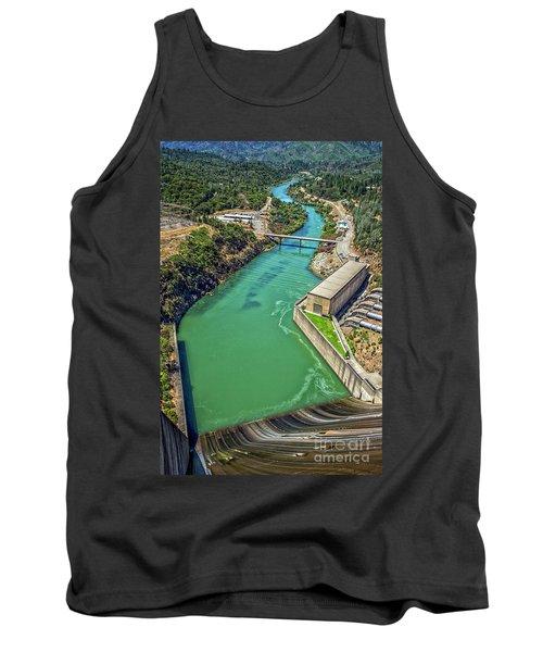 Shasta Lake Dam Tank Top by Billie-Jo Miller