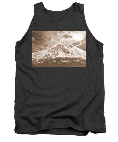 Shasta Mt Tank Top by Athala Carole Bruckner