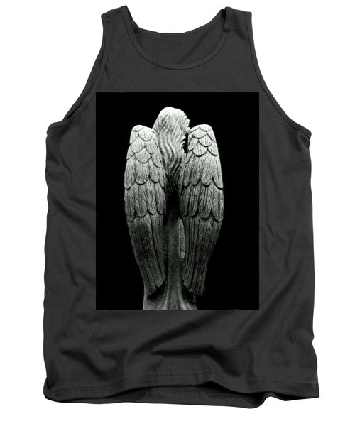 She Talks With Angels Tank Top