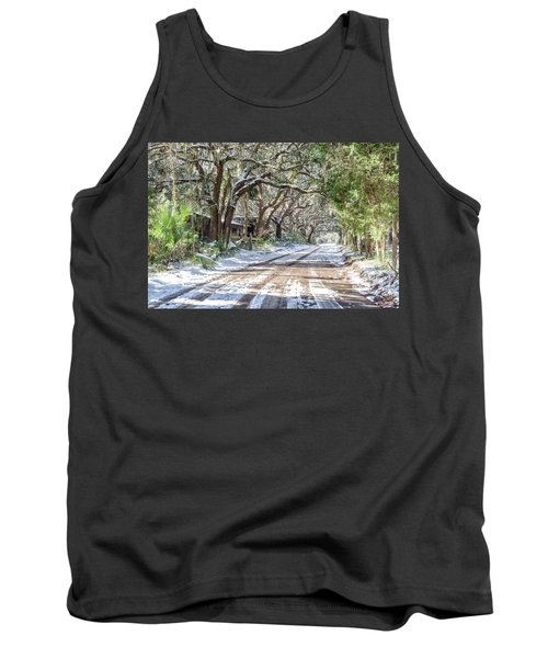 Sheep Farm - Snow Tank Top