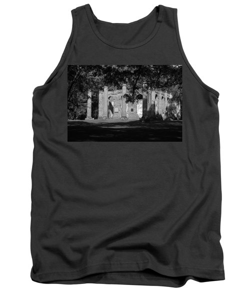 Sheldon Church 7 Bw Tank Top