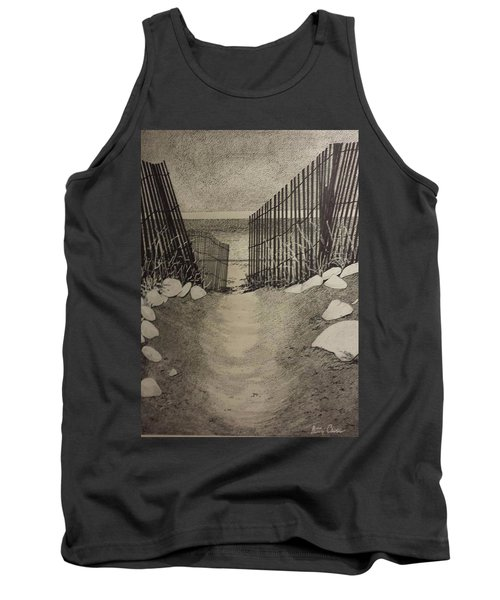 Shell Path Tank Top