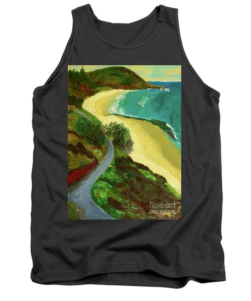 Shelly Beach Tank Top by Paul McKey