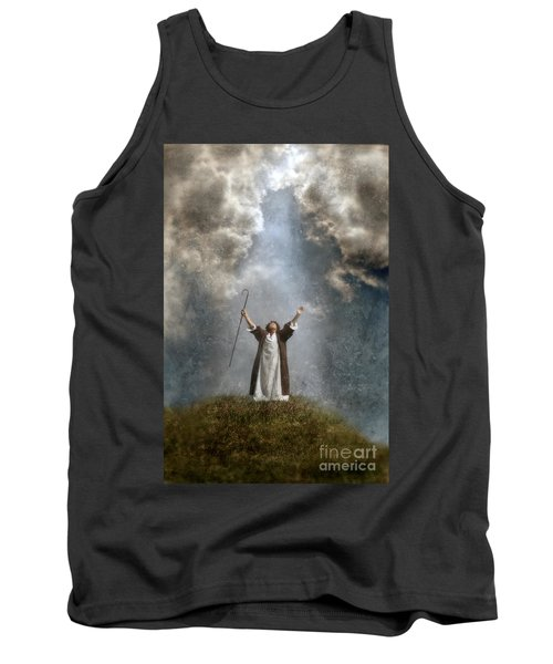 Shepherd Arms Up In Praise Tank Top