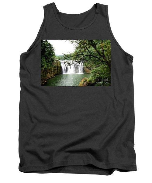 Shifen Waterfall  Tank Top by Hanza Turgul