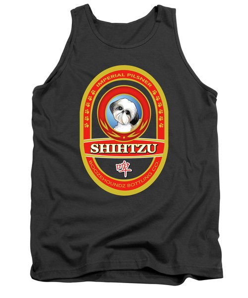 Shih Tzu Imperial Pilsner Tank Top