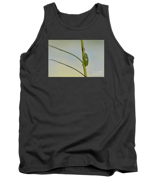Tank Top featuring the photograph  Doris Day Shining Bright by Kathy Gibbons