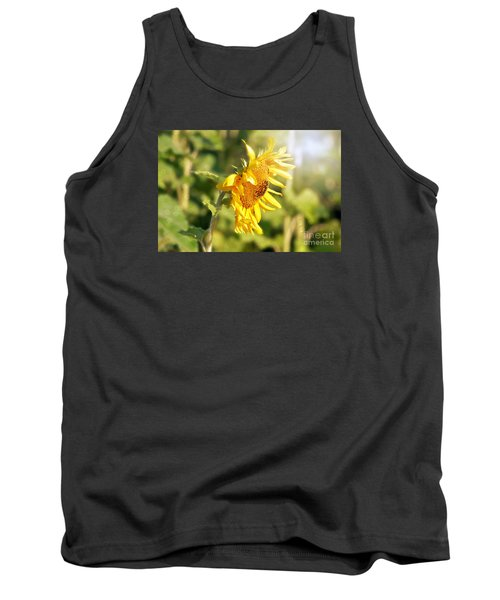 Tank Top featuring the photograph Shining Sun by Lila Fisher-Wenzel