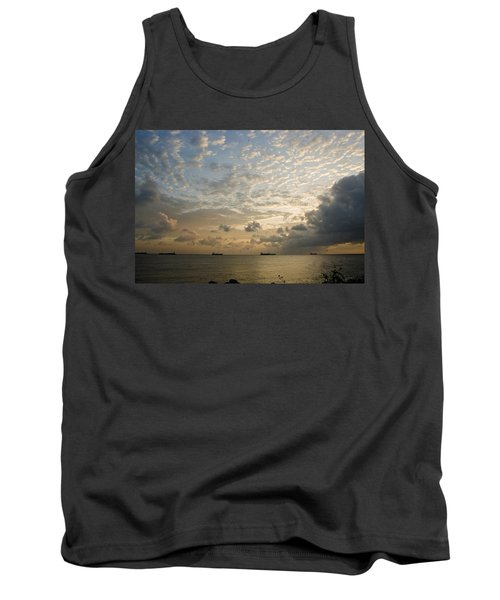 Ships In The Ship Channel.  Tank Top