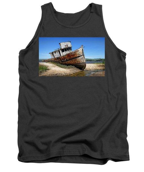 Shipwreck Tank Top by Jason Abando