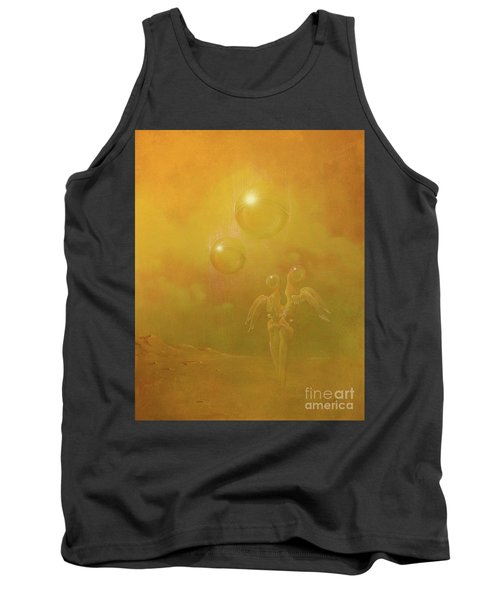 Shipwrecked Lovers Tank Top