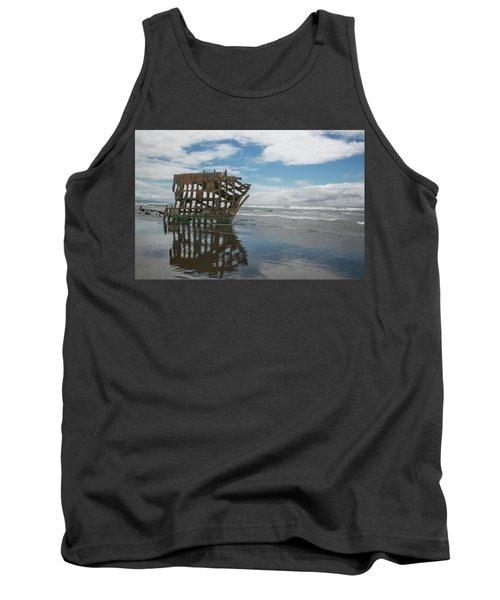 Tank Top featuring the photograph Shipwreck by Elvira Butler