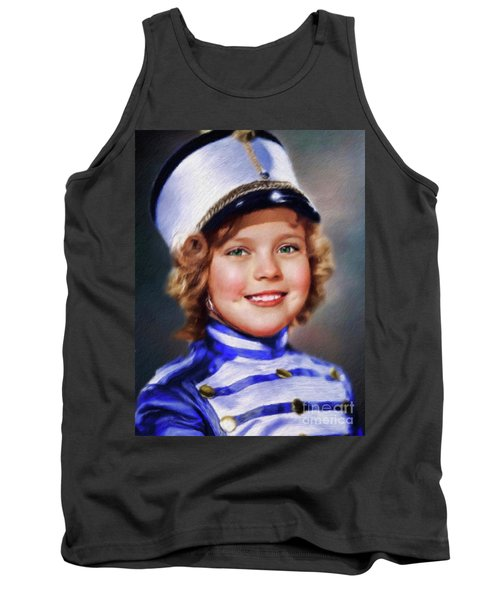 Shirley Temple, Vintage Actress Tank Top
