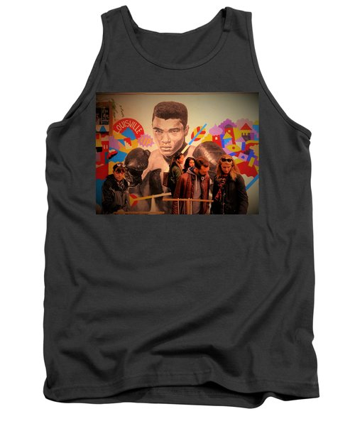 Shopping In Brooklyn With Mohamed Ali Tank Top