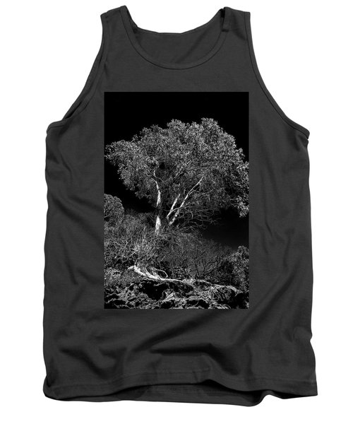 Shoreline Tree Tank Top by Roger Mullenhour