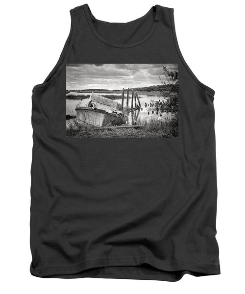 Shrimp Boat Graveyard Tank Top
