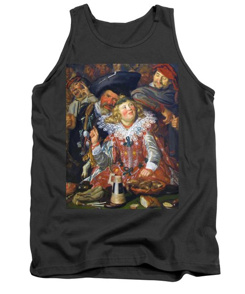 Shrovetide Revellers The Merry Company Tank Top