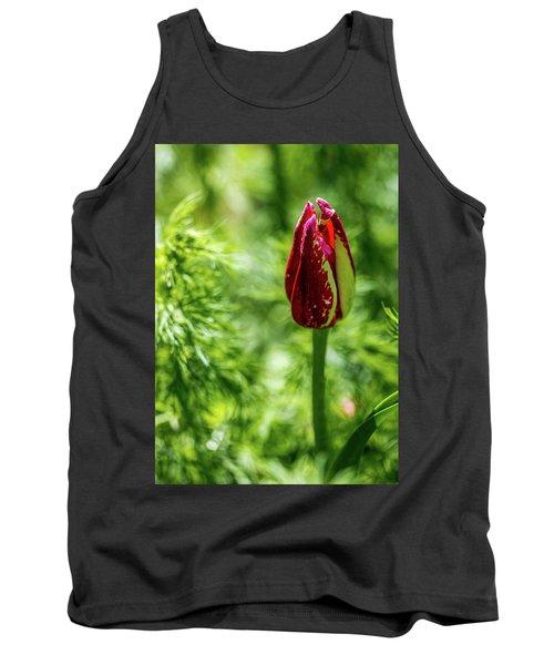 Shy Tulip Tank Top