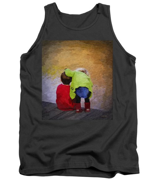 Sibling Love Tank Top by Brian Wallace
