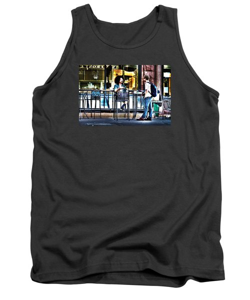Sidewalk Cafe Patrons Tank Top