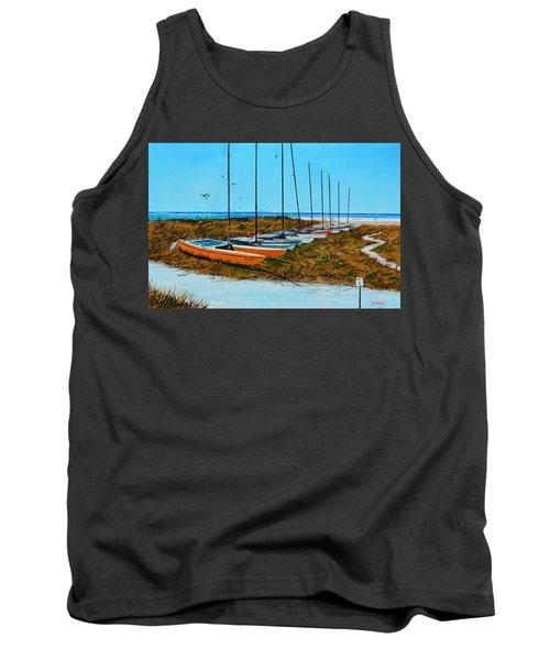 Siesta Key Access #8 Catamarans Tank Top