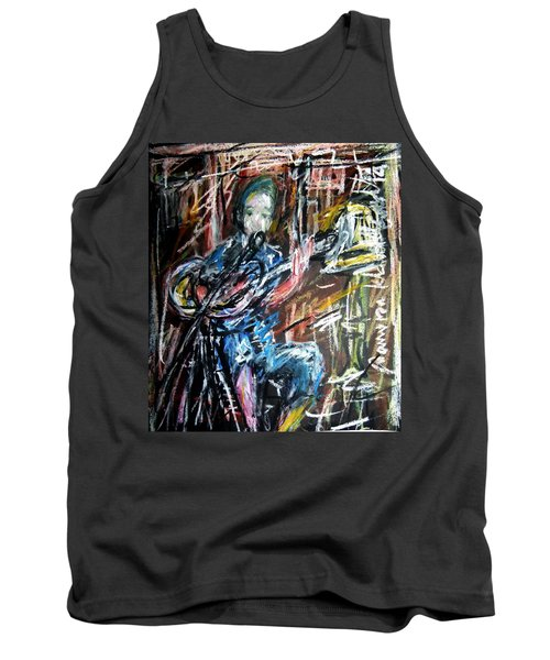 Singer Boy Tank Top