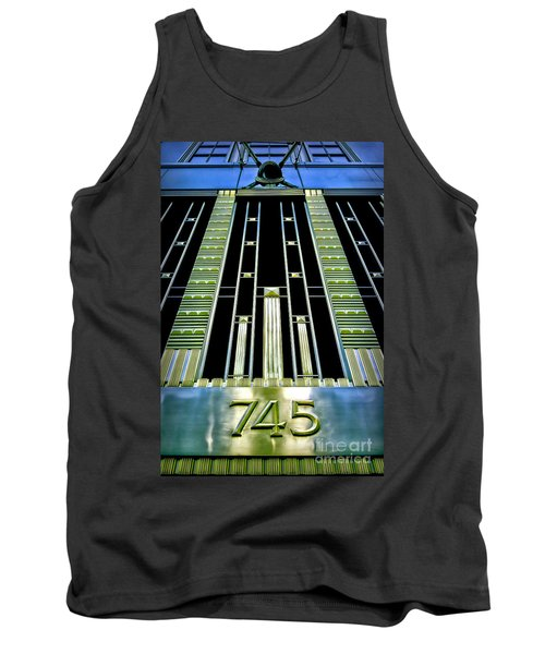 Tank Top featuring the photograph Sights In New York City - Classy Address by Walt Foegelle