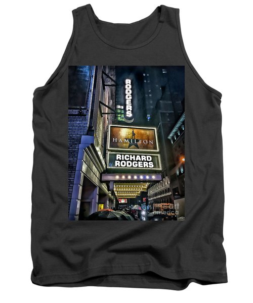 Sights In New York City - Hamilton Marquis Tank Top by Walt Foegelle