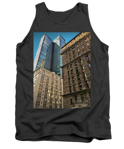 Tank Top featuring the photograph Sights In New York City - Old And New 2 by Walt Foegelle