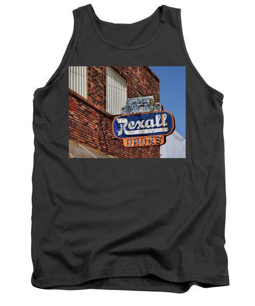 Sign Of The Past Tank Top by David and Carol Kelly