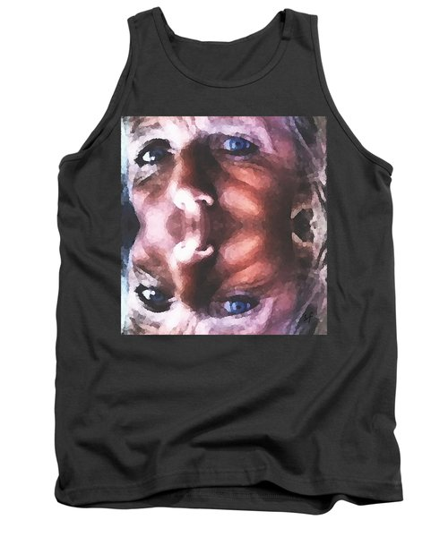 Tank Top featuring the digital art Silenced by Shelli Fitzpatrick