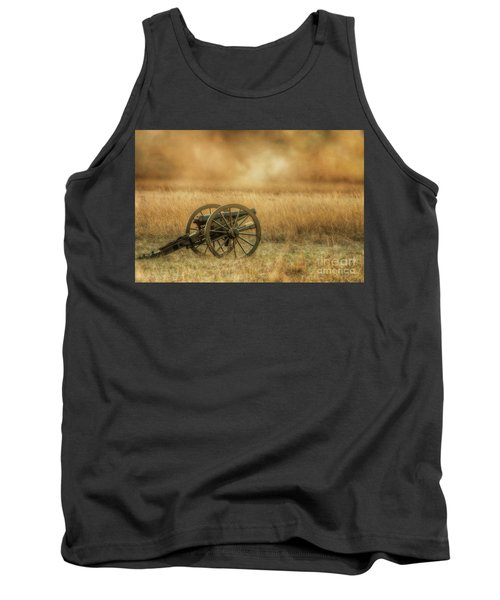Silent Cannons At Gettysburg Tank Top