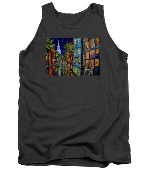 Silent Night Tank Top by Dorothy Allston Rogers