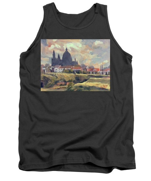 Silhouet Saint Lambertus Church Maastricht Tank Top
