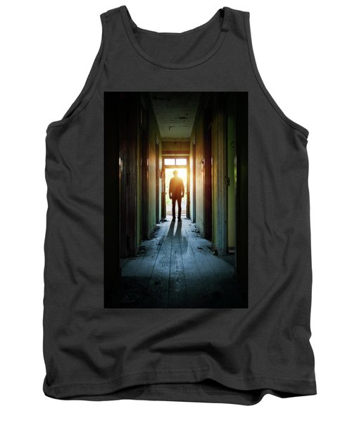 Silhouette On The Hallway Tank Top