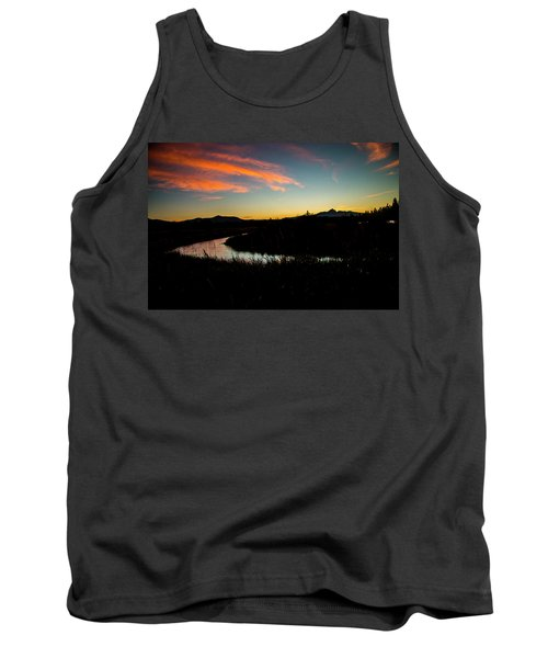 Silhouette Sunset Tank Top