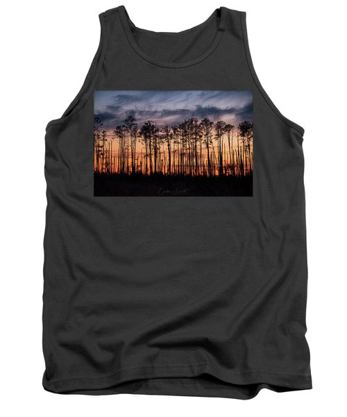 Silhouetted Sunset Tank Top