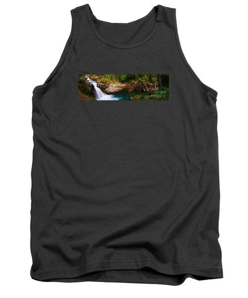Silver Falls Panorama Tank Top