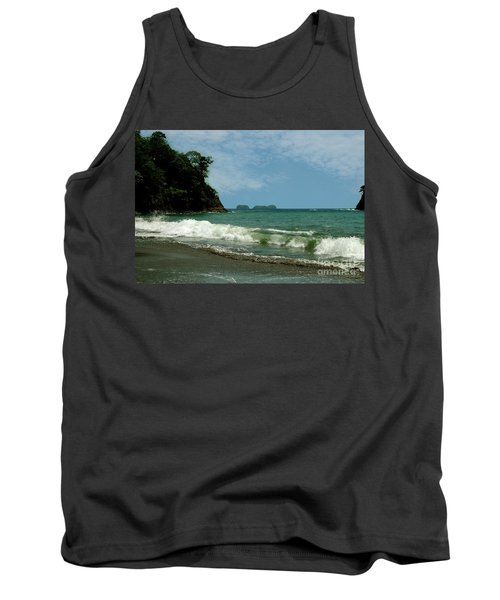 Simple Costa Rica Beach Tank Top