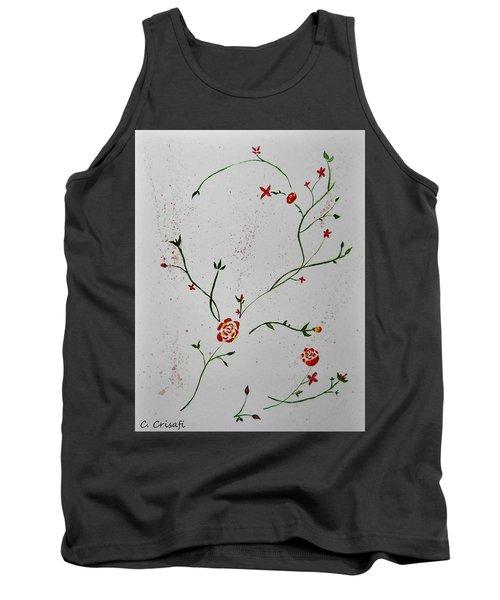 Simple Flowers #1 Tank Top