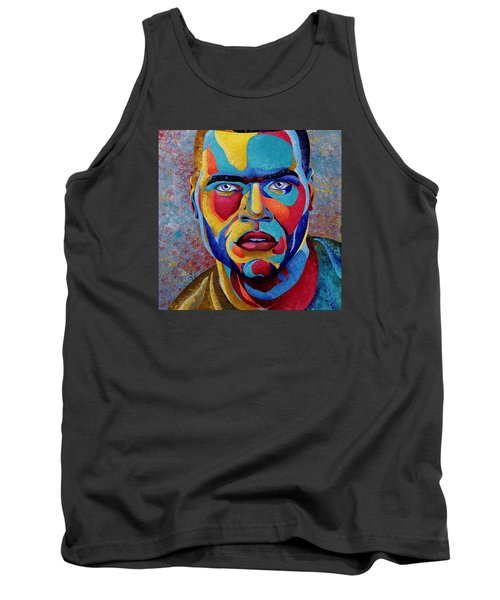 Simply Complex Tank Top by William Roby