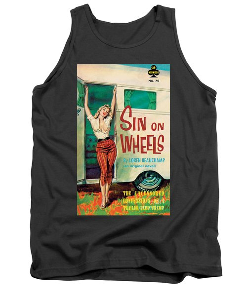 Sin On Wheels Tank Top by Paul Rader