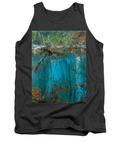 Tank Top featuring the painting Singin' With Blues by Mary Sullivan