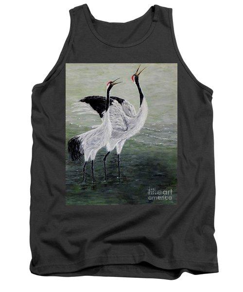 Singing Cranes Tank Top