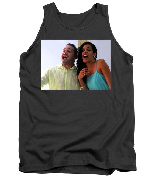 Singing With Passion Tank Top