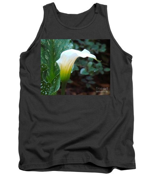 Single Lily  Tank Top by Rand Herron